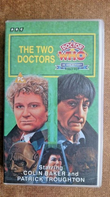 Doctor Who - The Two Doctors (VHS, 1993) - Colin Baker & Patrick Troughton